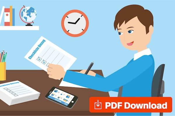 Tipps und Checkliste für Ihren Umzug - Mit kostenloser PDF Checkliste